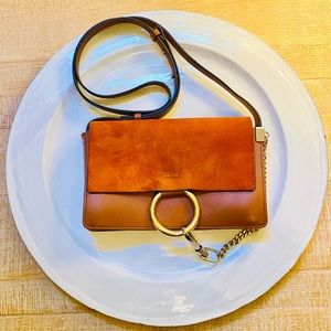 Authentic Chloe Faye crossbody bag